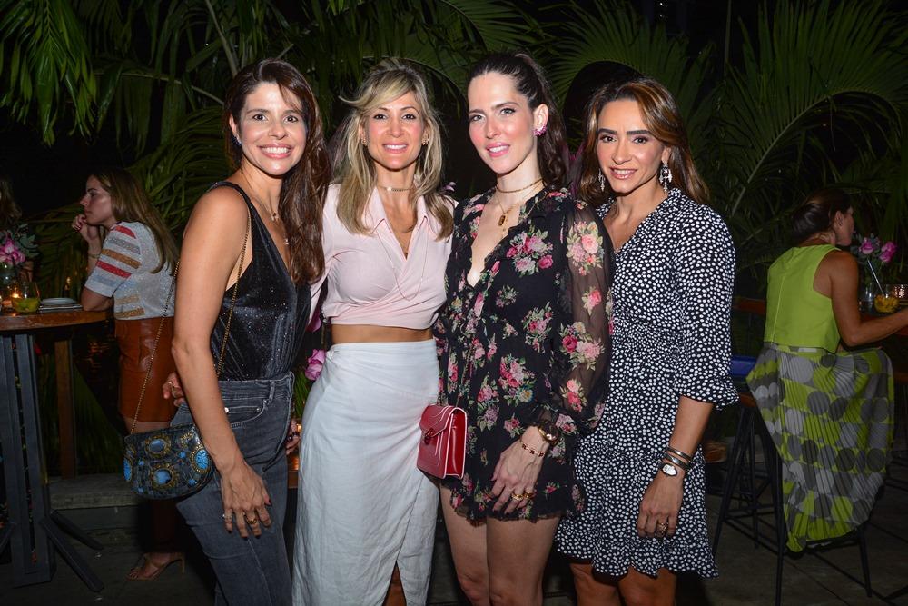 Ticiana Oliveira, Bianca Bonorandi Franco, Marcela Porto E Camila Barbosa