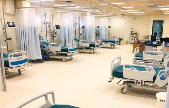 Governo do Ceará leva 11 pacientes com Covid-19 para Hospital Leonardo da Vinci
