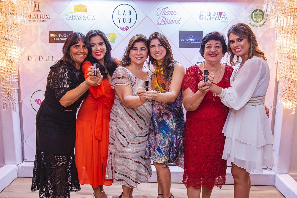 Vania Herculano, Thalita Herculano, Lucitania Feijao, Themis Briand, Tereza Fontenele E Sara Fontenele