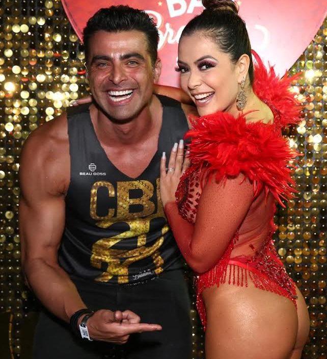 JP Mantovani e Lia Martins