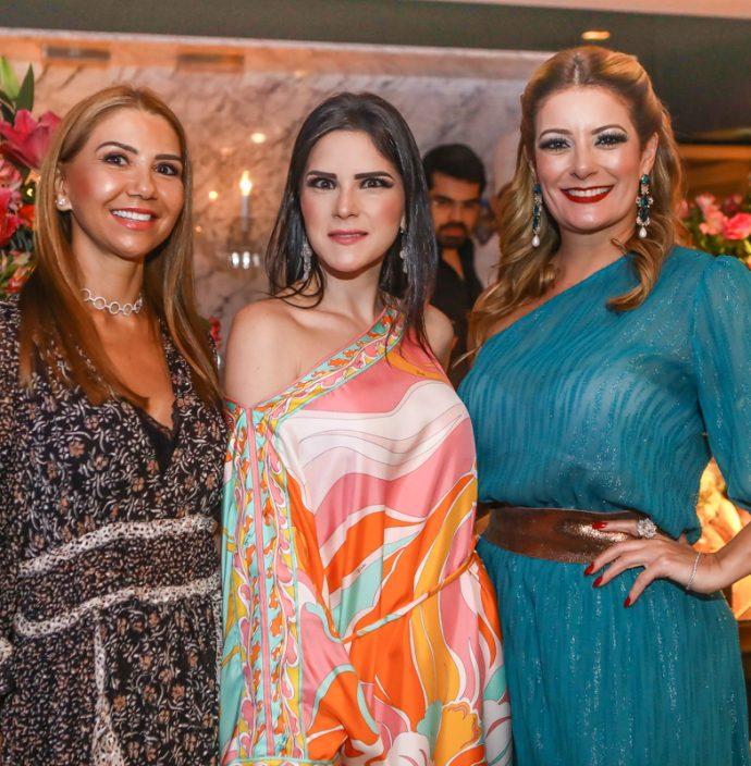 Wayne Moreira, Marilia Vasconcelos E Tatiana Luna