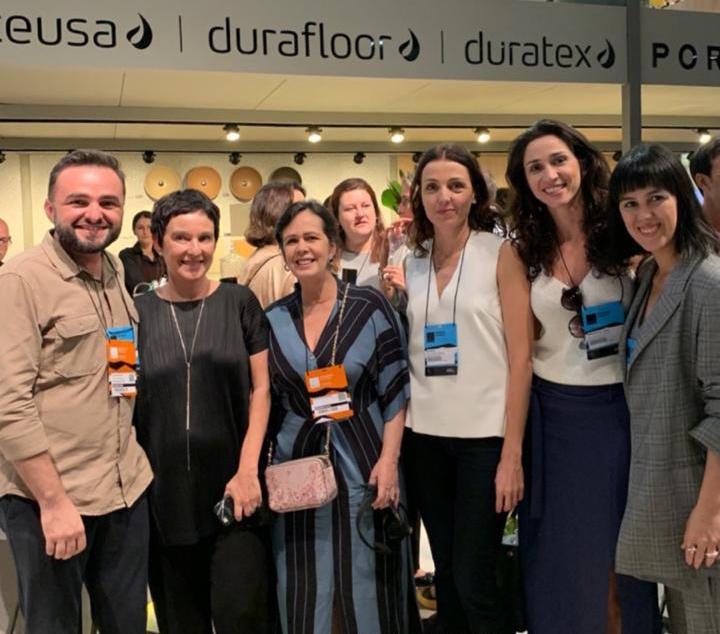 Neuma Figueiredo marca presença na Expo Revestir 2020, em São Paulo