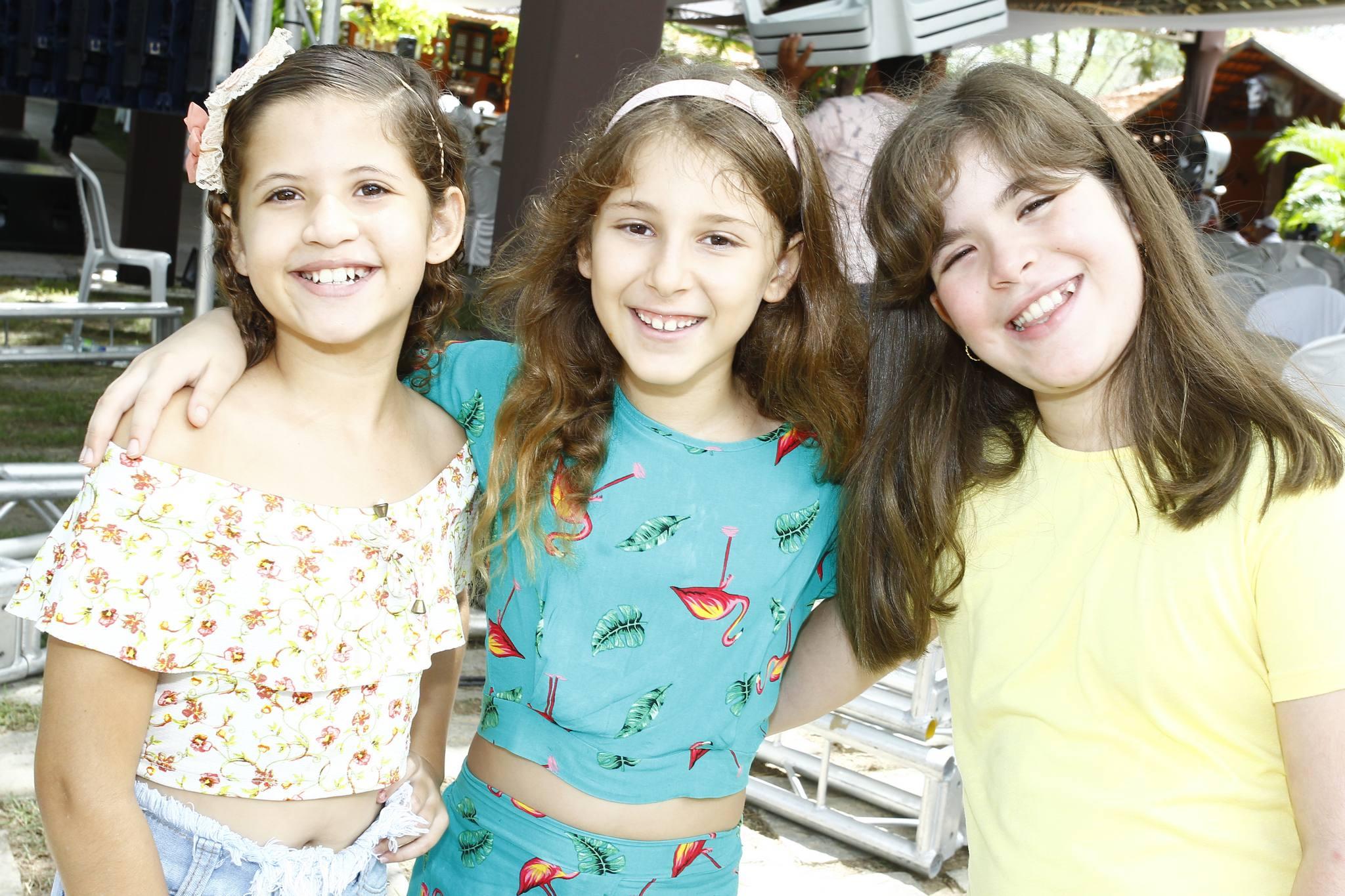 Yasmin Rodrigues, Liz Lima E Maria Cecilia