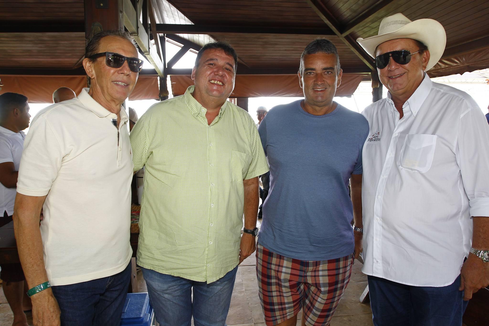 Ze Gerardo Pontes, Fabio, Mauricio E Rafael Leal