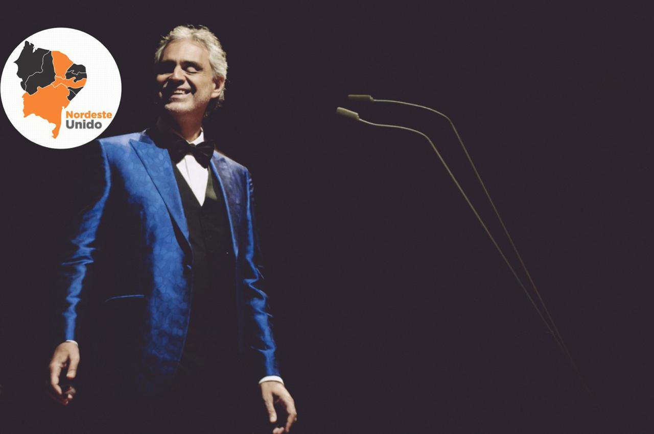 Andrea Bocelli fará show online diretamente do Duomo di Milano no domingo de Páscoa