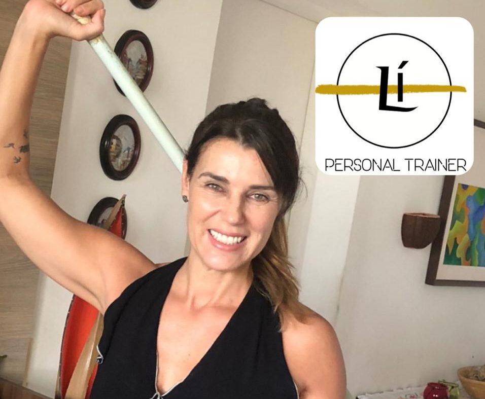 Lissandra Uttempergher dá dicas certeiras para quem quer fazer exercício em casa