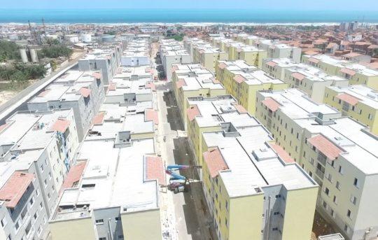 Prefeitura de Fortaleza acelera entrega de residencial com 1.111 apartamentos