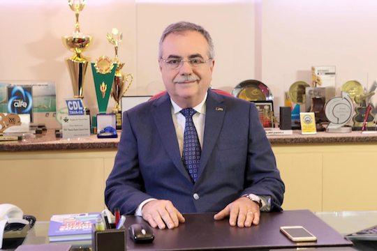 Assis Cavalcante e diretoria CDL debatem questões trabalhistas com a Jucec