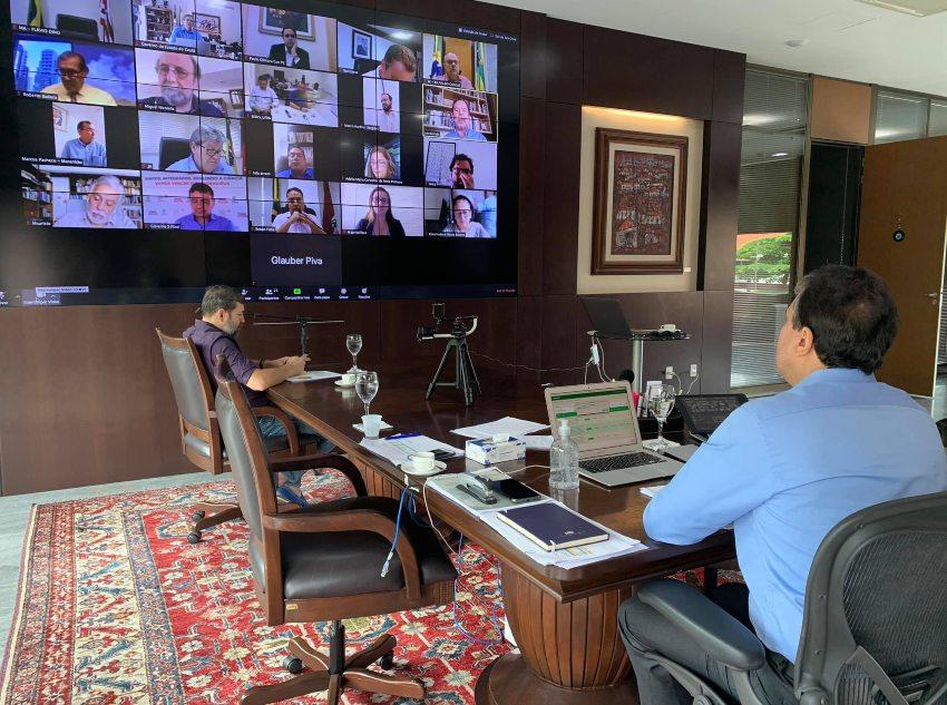 Camilo participa de reunião do Comitê Científico do Consórcio Nordeste