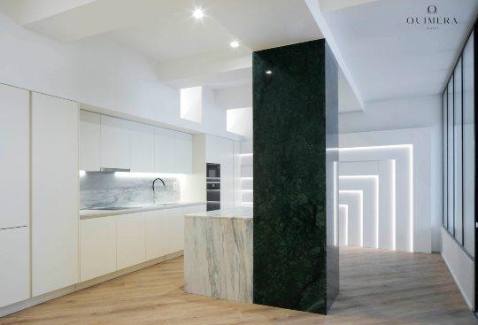 Quimera Invest conclui obra de amplo apartamento em área central de Lisboa