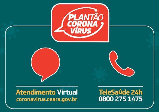 Governo do Ceará expande o Plantão Coronavírus usando tecnologia chatbot