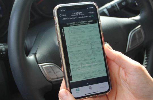 CRLV Digital já pode ser impresso em casa pelos donos de veículos