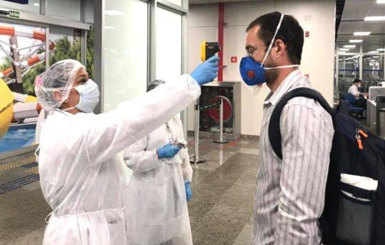 Equipes da Sesa continuarão realizando triagem e avaliação no Fortaleza Airport