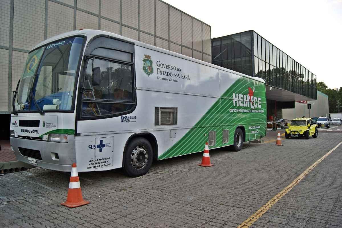 Shopping Iguatemi vai receber unidade móvel do Hemoce na próxima semana