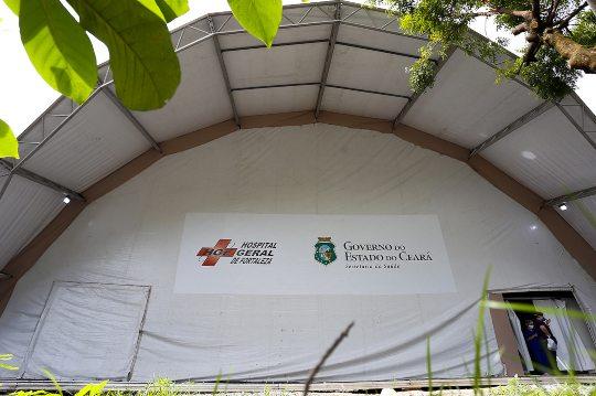 Governo do Ceará inaugura Hospital de Campanha situado anexo ao HGF