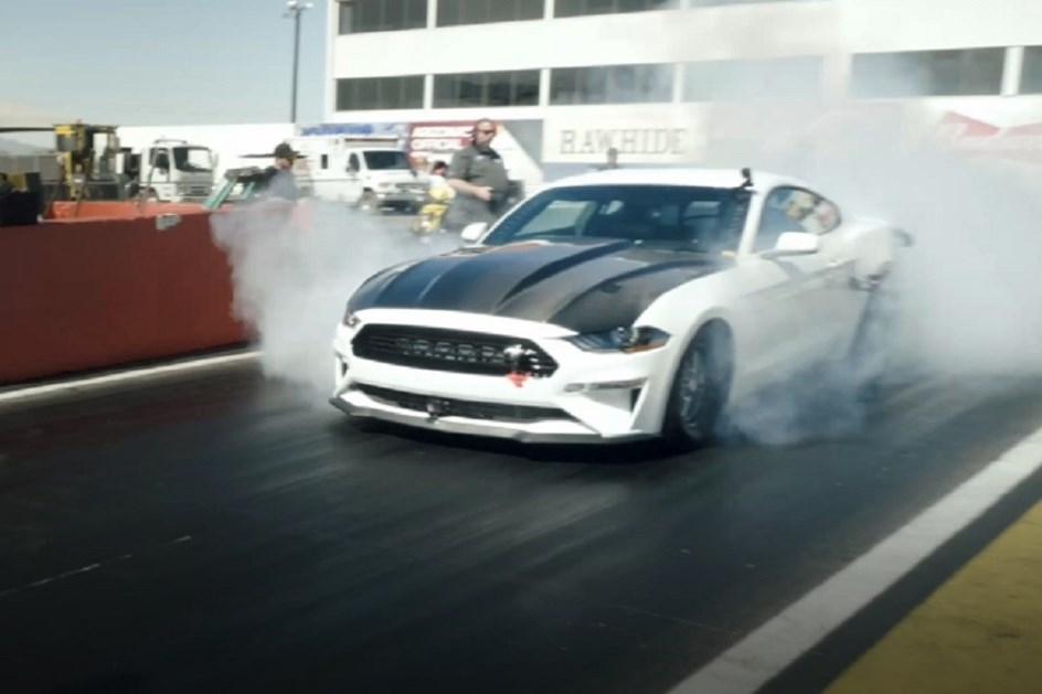 Com motor elétrico, Mustang Cobra chega a 274 km/h