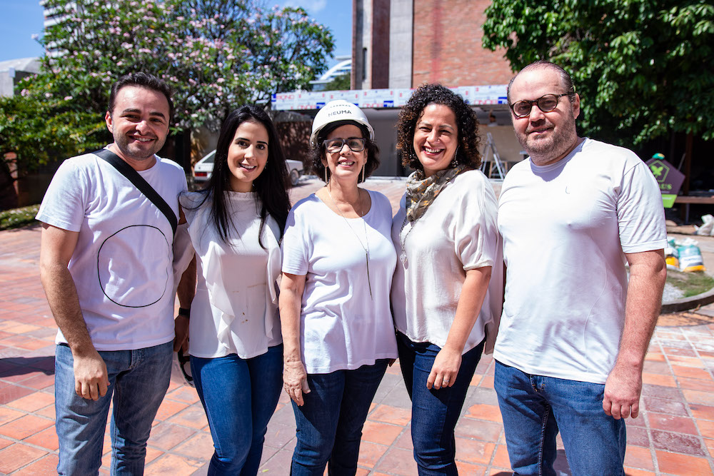Ramiro Mendes, Joana Figueiredo, Neuma Figueiredo, Liana Feingold E Roberto Pamplona