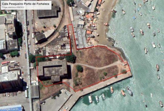 Compex arremata a retroárea do Cais Pesqueiro do Porto de Fortaleza, em leilão eletrônico, por R$ 3,4 milhões