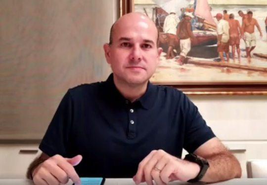 Roberto Cláudio retomará atividades presenciais na próxima sexta-feira