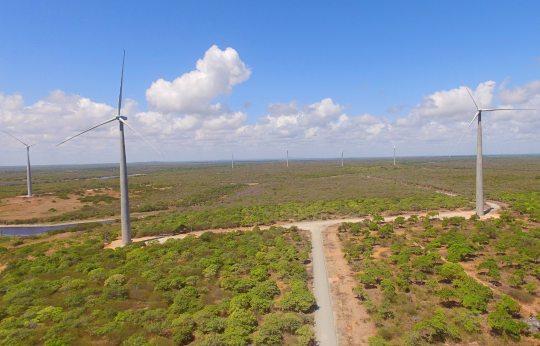 Complexo Eólico de Fortim entra em operação com capacidade de 123 MW