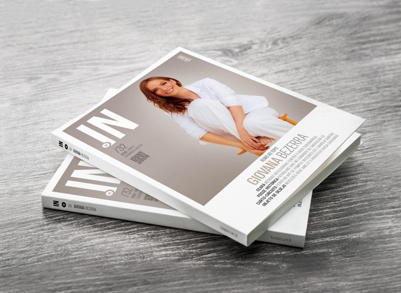 Nova edição da Revista IN será distribuída nas lojas premium dos Supermercadinhos São Luiz