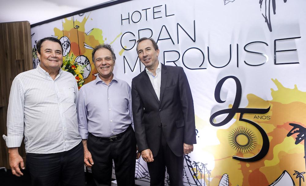 3 Dionisio Barsi, Jose Carlos Pontes E Philippe Godefroit