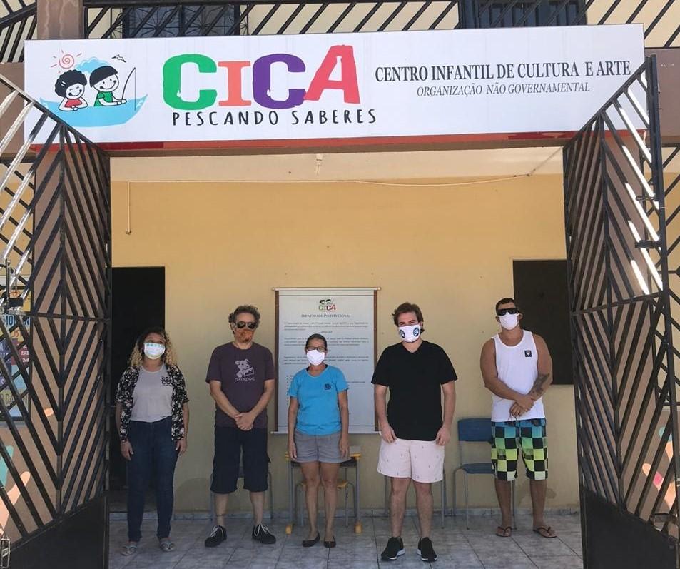 Solidariedade Sem Fronteiras oferece atendimento médico e doa alimentos para comunidade em Amontada