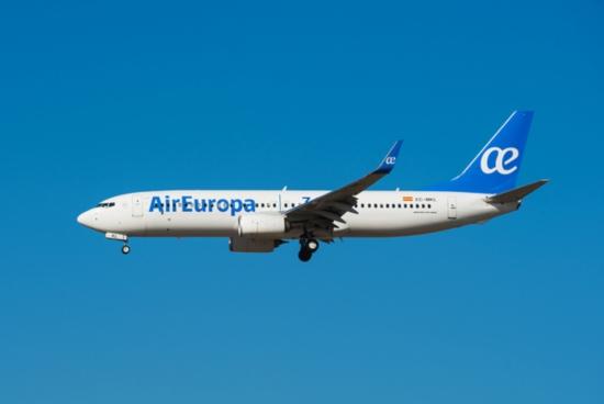 Air Europa adota medidas sanitárias mais rígidas para a retomada das operações