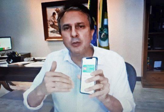 Camilo anuncia retorno da economia dia 1º de junho, a distribuição de 280 mil testes rápidos e lança novo aplicativo