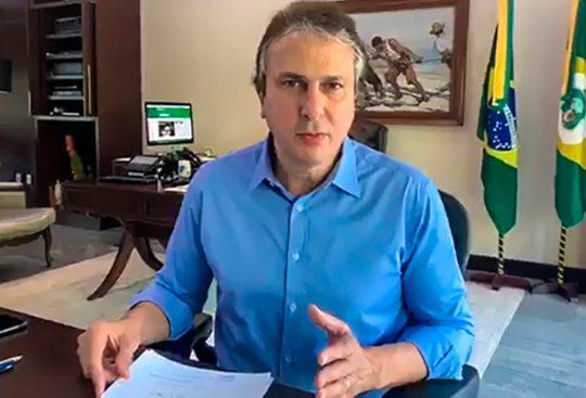 Camilo Santana diz que número de casos estabiliza e semana que vem anuncia plano de retorno da atividade econômica