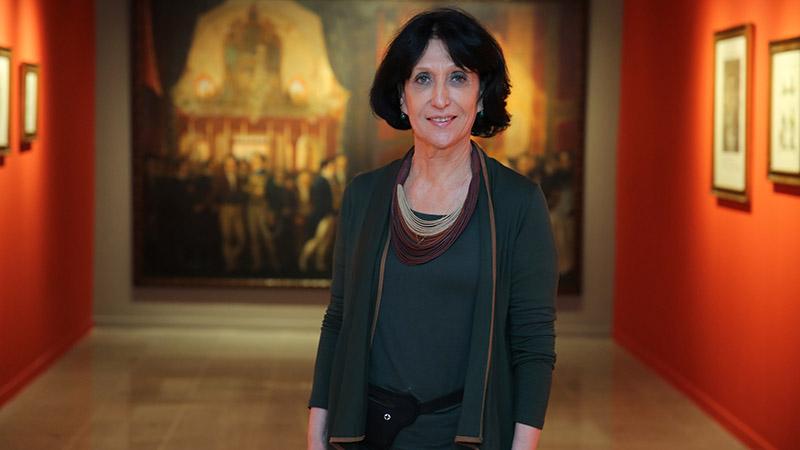 Denise Mattar participa de encontro virtual com Elisabeth di Cavalcanti, filha do artista Di Cavalcante