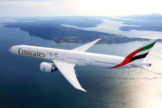 Emirates anuncia o retorno de vos para Estados Unidos, Europa e Austrália