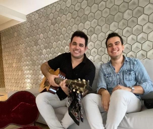 Luís Marcelo e Gabriel prometem fazer bonito em live do Projeto Pôr do Sol Online