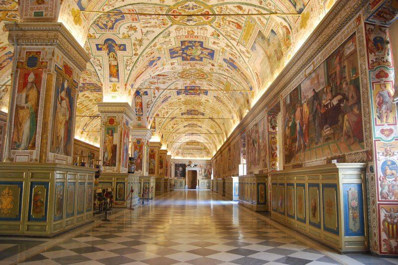 Museu Do Vaticano Roma Italia