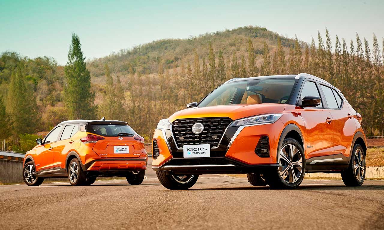 Nissan apresenta uma versão a mais do Kicks – agora com opção híbrida