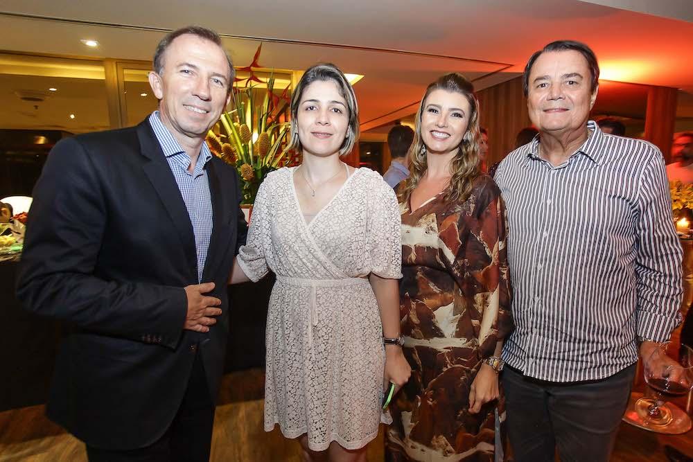Philipe Godefroit, Natalia Lima, Tamara Azevedo E Dirceu Barci