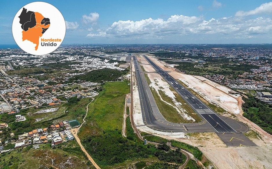 Aeroporto de Salvador passará por reforma na pista principal entre junho e agosto