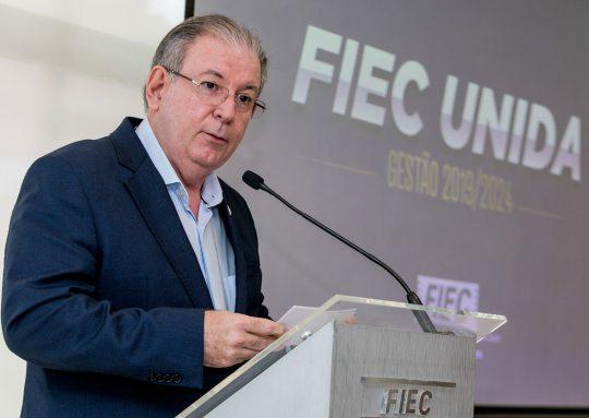 Ricardo Cavalcante destaca a relevância da FIEC para a retomada da economia