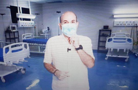 Roberto Cláudio anuncia mais dez leitos de UTI no IJF-2 para esta quinta-feira