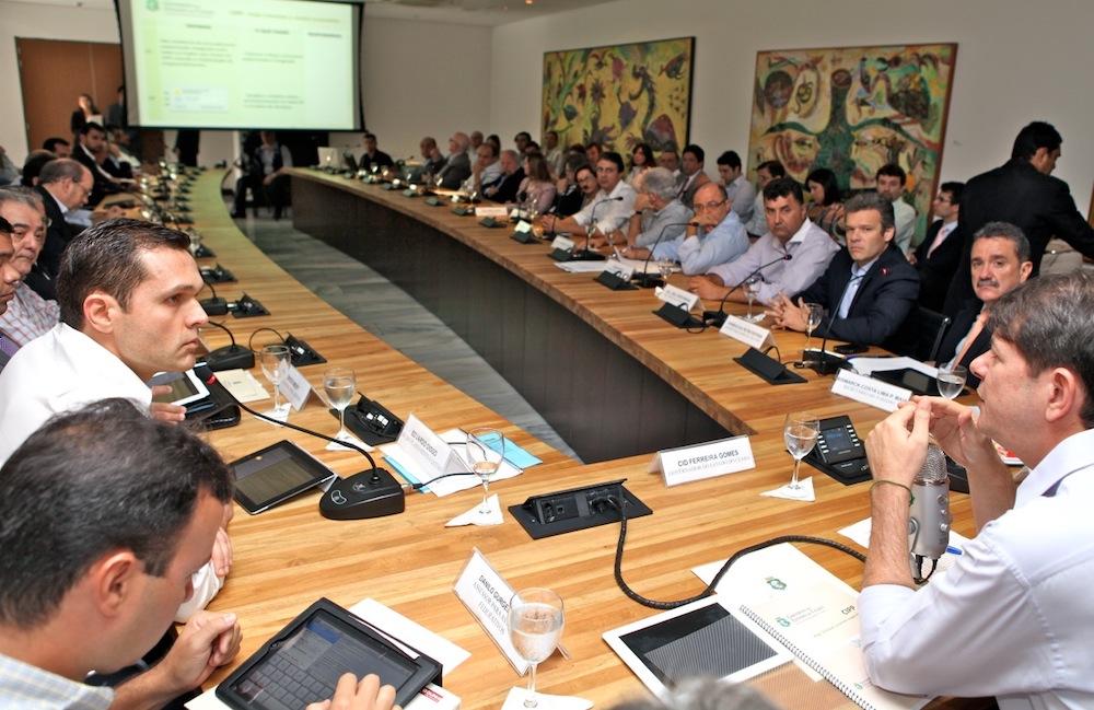 2011 Nas Reuniões Do Conselho Gestor Do Complexo Industrial E Portuário Do Pecém, No Palácio Da Abolição