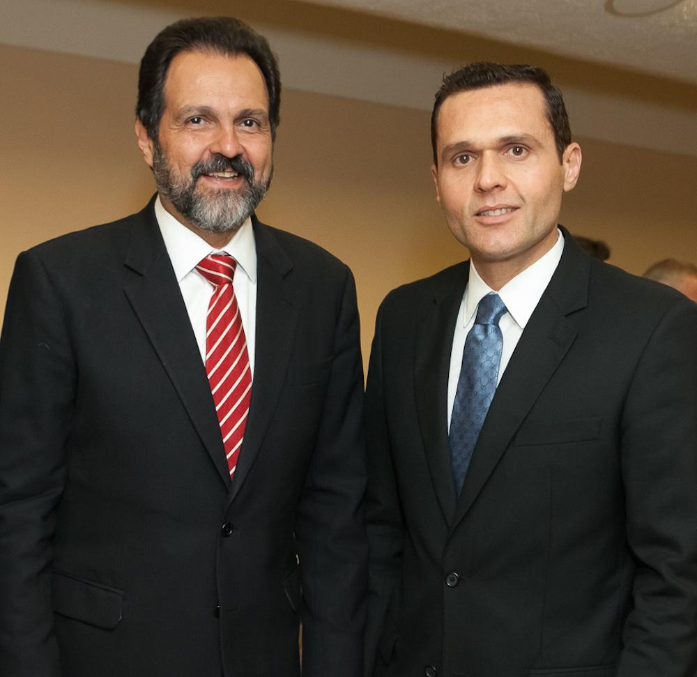 2013 Com O Então Governador Do Df Agnelo Queiroz, Durante A 1ª Jornada Internacional De Gestão Pública Em Brasília