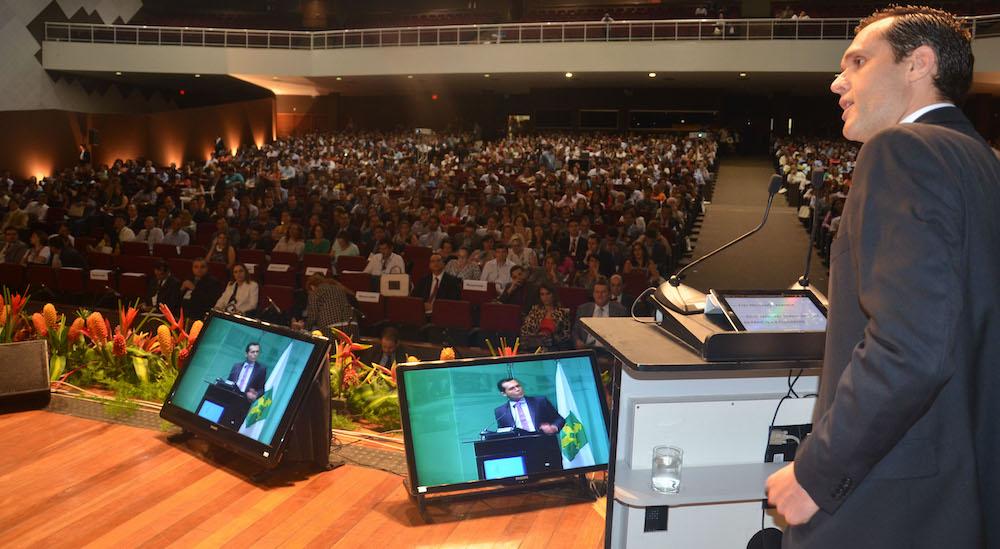 2013 Discurso De Abertura Do Congresso Consad De Gestão Pública, No Centro De Convenções Ulysses Guimarães, Brasília Df