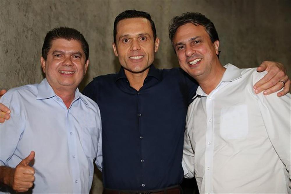 2014 Com Os Candidatos à Governador E Ao Senado, Camilo Santana E Mauro Benevides Filho