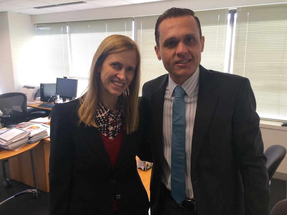 2015 Com A Então Diretora Senior Para Educação Do Banco Mundial, E Ex Ministra Cláudia Costin, Em Reunião Na Sede Do Banco Mundial Em Washington Dc