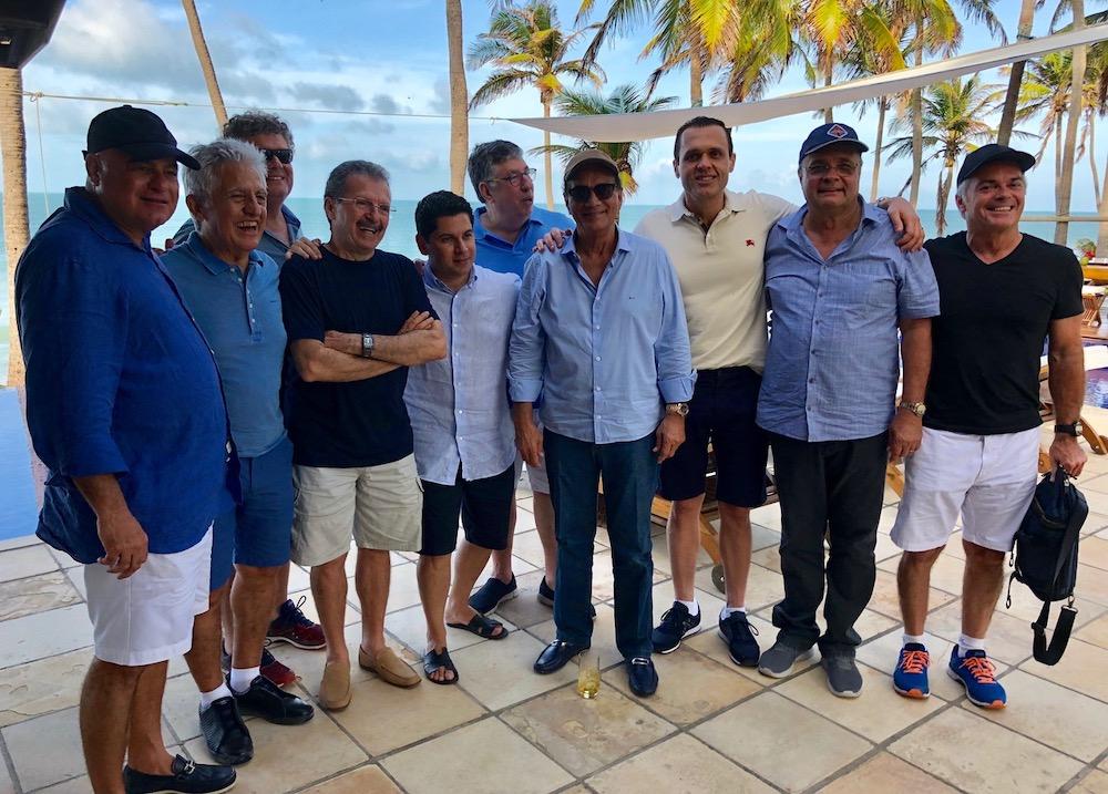2018 Com Amigos Empresários Em Almoço Recepcionado Pelo Empresário Luciano Cavalcante