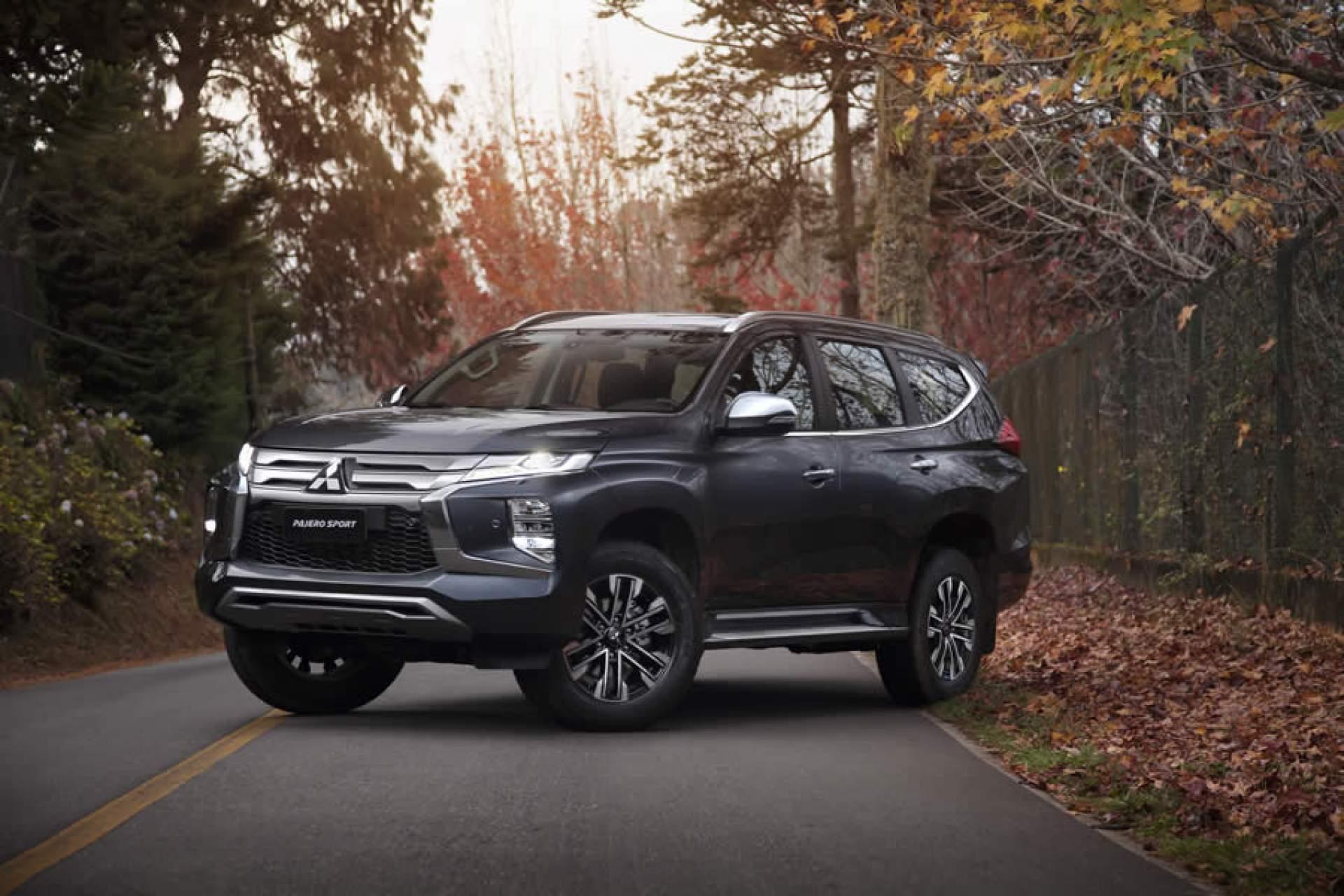 Mitsubishi lança Pajero Sport 2021- SUV mais luxuoso e tecnológico da marca