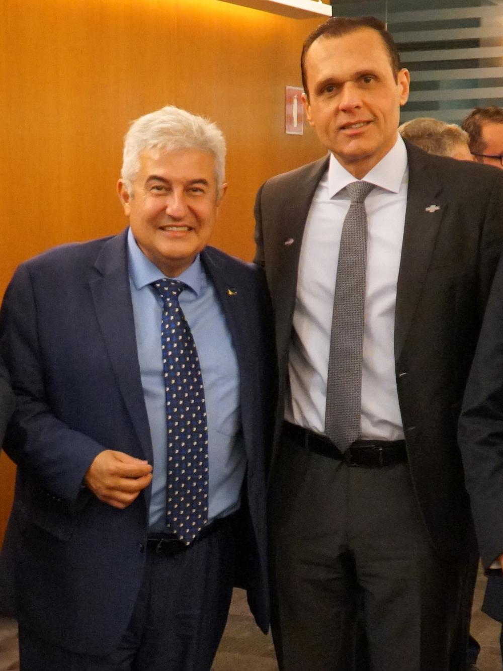 A Com O Ministro Da Ciência Tecnologia Inovação E Comunicação Marcos Pontes, Em Evento Na Sede Do Sebrae Nqcional Em Brasilia Df 2019