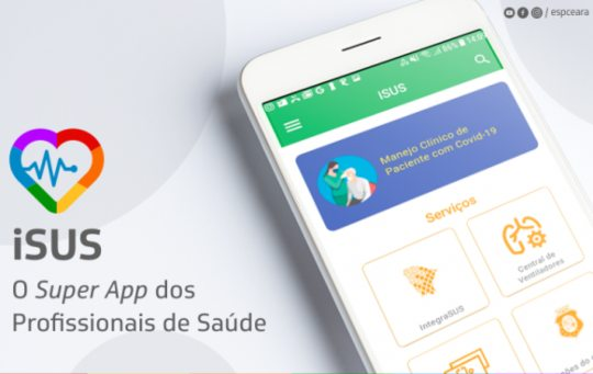Governo do Ceará finaliza aplicativo de apoio para os profissionais da saúde