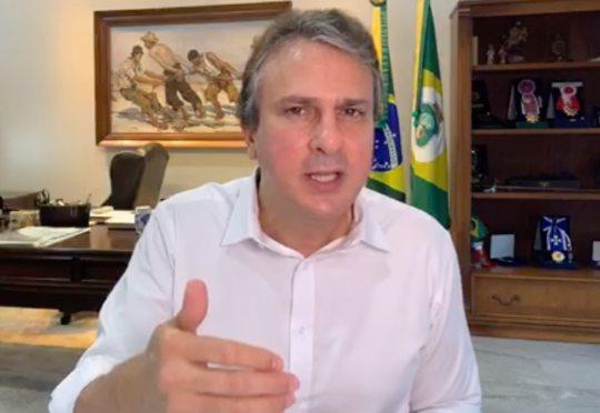 Camilo prorroga decreto de isolamento social no Ceará até o próximo dia 21
