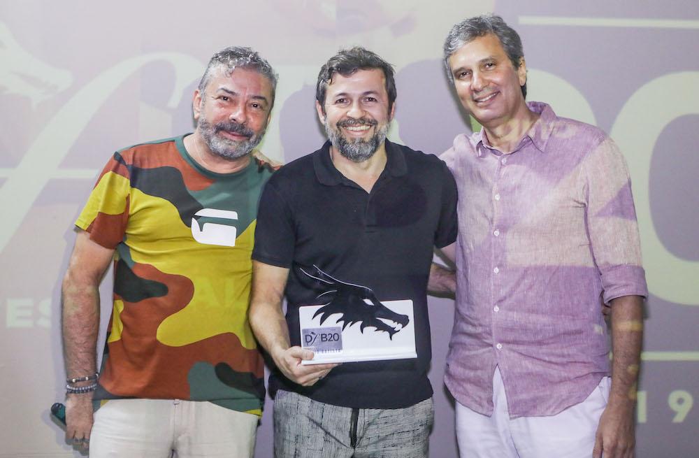 Claudio Silveira, Elcio Batista E Tiago Santana (2)